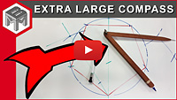 extra large compass